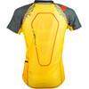 La Sportiva Sonic Short Shleeve Shirt Men Black/Yellow